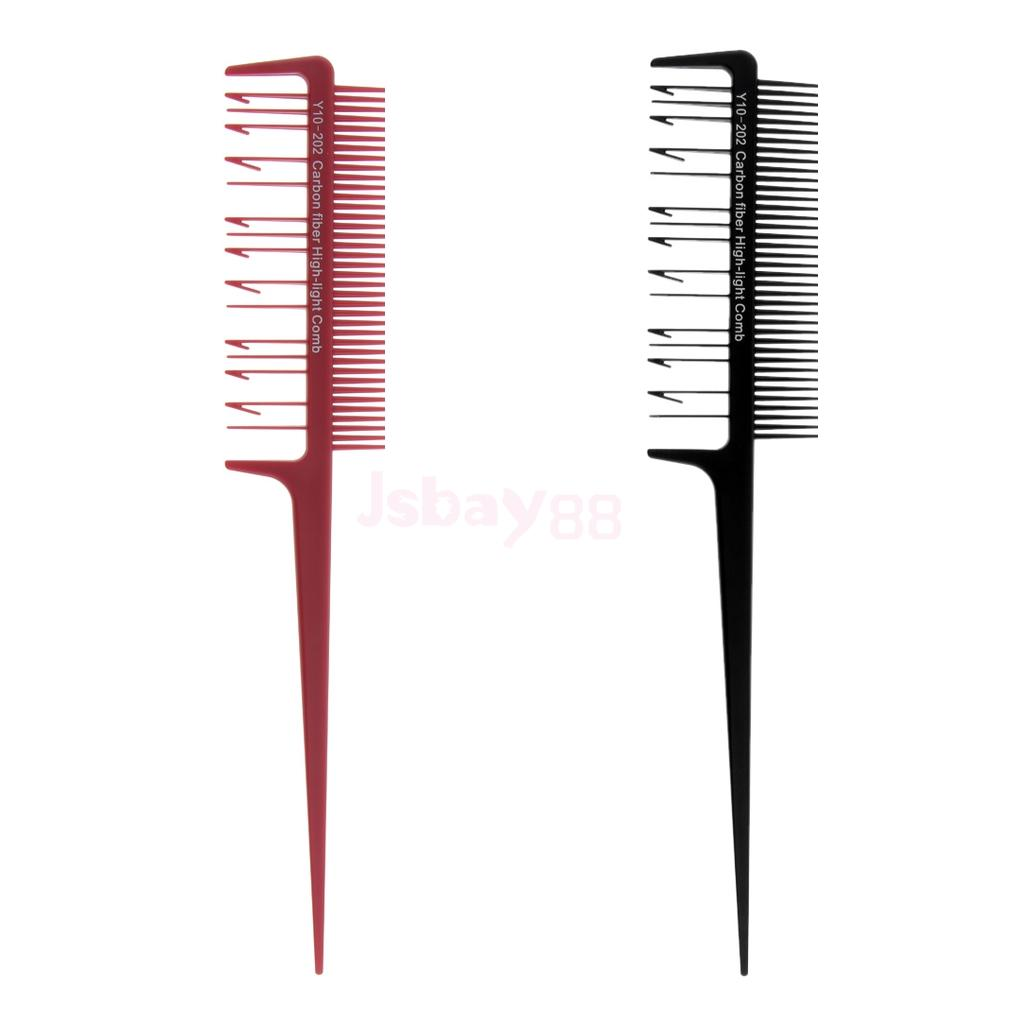 Pro Weaving Amp Sectioning Foiling Comb For Fine Highlights