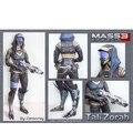 Modelo de Papel DIY Personagem de Mass Effect Tali ME3
