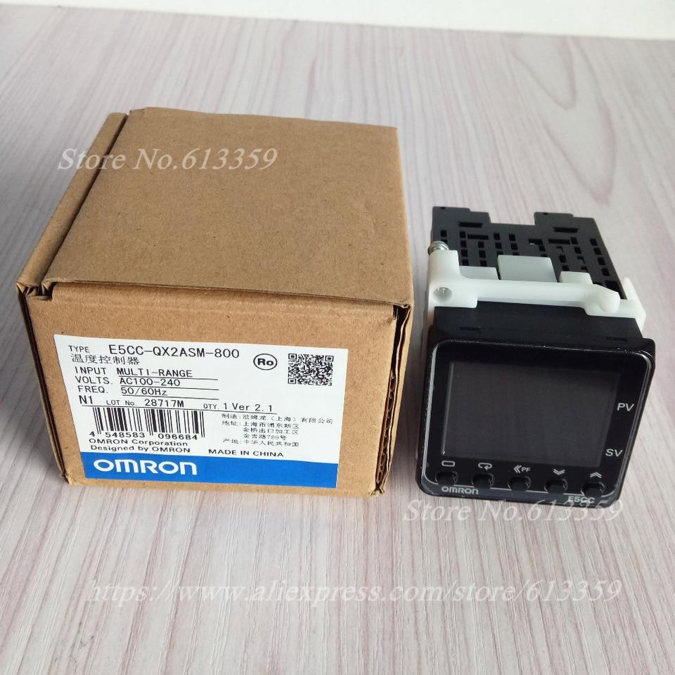 New In Box Omron E5CC-QX2ASM-800 Temperature Controller