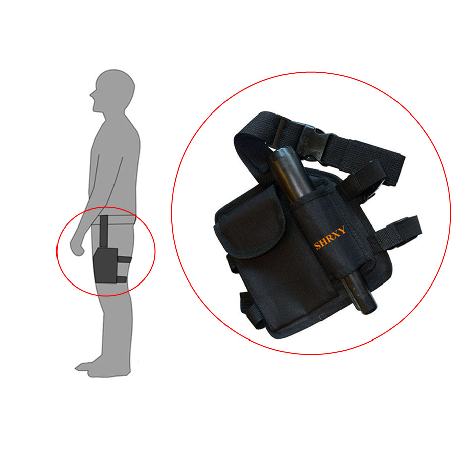 Metal Detector Drop Leg Pouch Bag for Xp Pin Pointers ProFind Leg Package Tools Bag