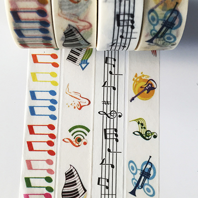 jiataihe washi tape sticker kawaii stationery Music notes masking tape Music not set Adhesive Tape Scrapbooking tape надежда ефремова постоянство минувшего