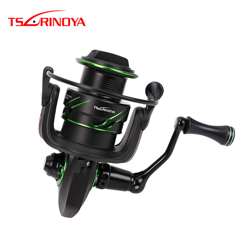 TSURINOYA FLYING SHARK2000 3000 12BB 6.2:1 Gear Ratio 8Kg Max Drag Spinning Reel For Saltwater цена в Москве и Питере