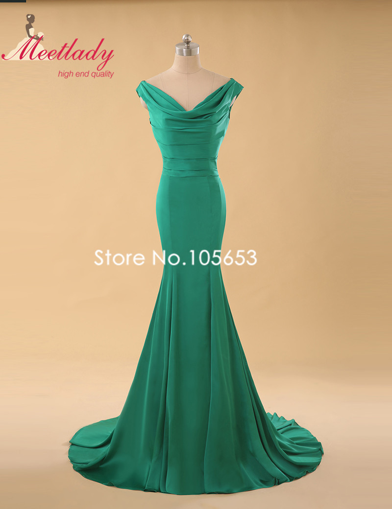 Popular Simple Green Evening Dress-Buy Cheap Simple Green Evening ...