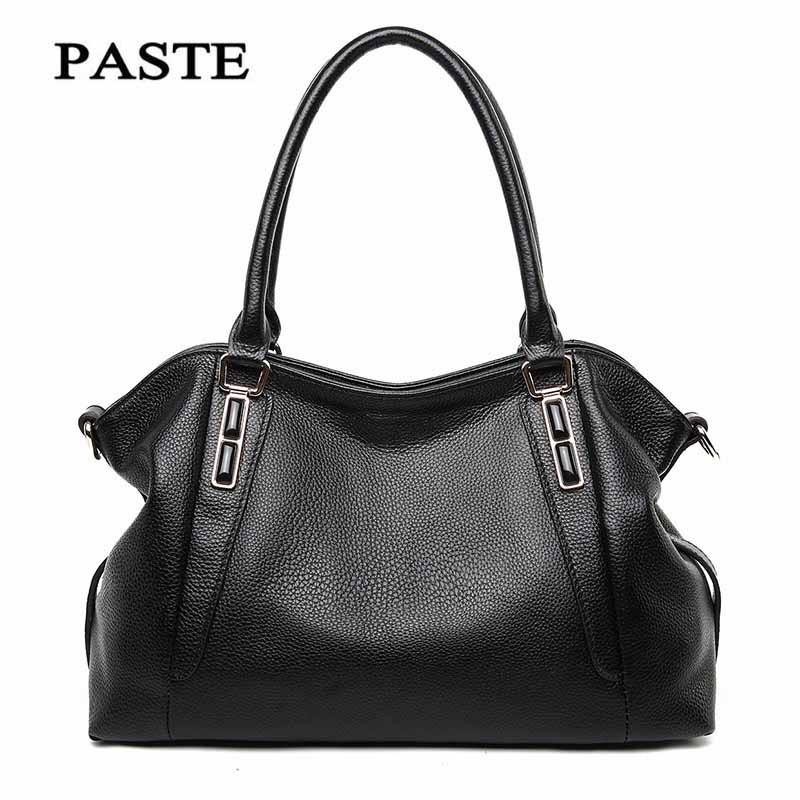 2018 new first layer of leather with sapphire leather handbag Europe and the United States fashion shoulder bag Messenger bag so цена