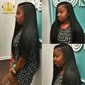 Camboyano virginal del pelo recto 4 bundle ofertas 8 Araw vip belleza del pelo Camboyano virginal del pelo recto natural negro recto sedoso