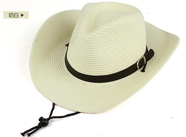 2018 Hot Sale New Unisex fashion western cowboy hat tourist cap outdoor hat  western hat gorras AW7226 4674c296a48