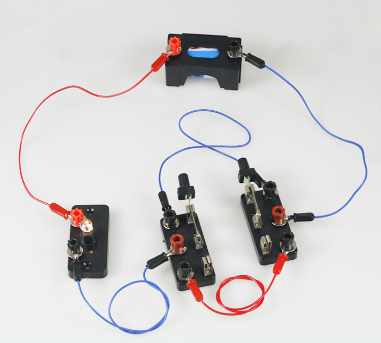 New Physical Electricity Experiment DPDT Switch Schooling Teaching Accessory