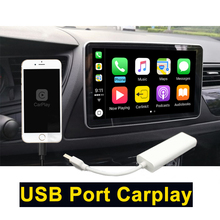 Carlinke USB  Carplay Dongle for Android Auto iPhone Carplay Support Android  system Car Navigation Player