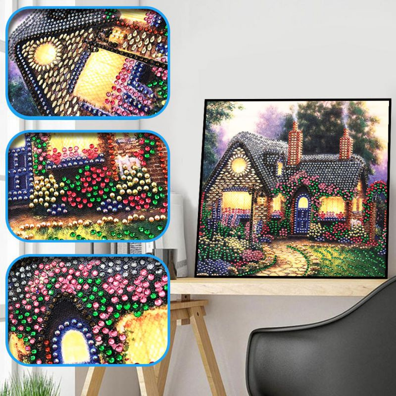 5D Diamond Painting Cross Stitch Partial Crystal Rhinestone Embroidery Paintings Pictures Arts Craft Number Kits Home Decor in Diamond Painting Cross Stitch from Home Garden