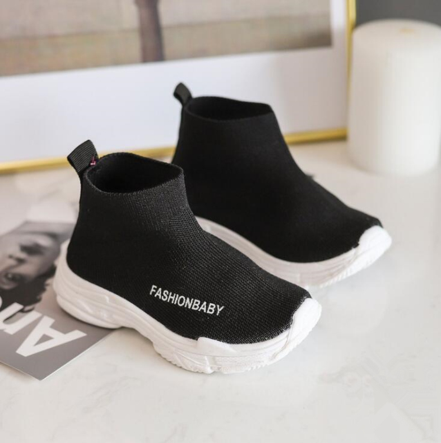 2019 Spring Autumn Children Shoes Baby Boys Sports Breathable Sneakers Toddler Girls Fashion Running Students Antilsippery Shoes