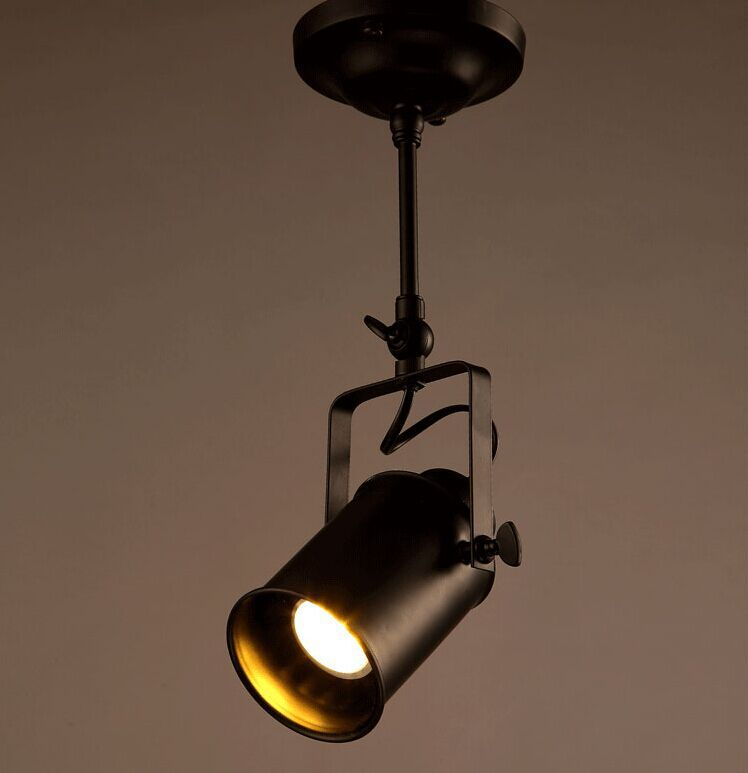 Loft Industrial Wind American Rural Bar Coffee Shop Clothing Store Creative Personality Aisle Led Shoot The Light Track Light
