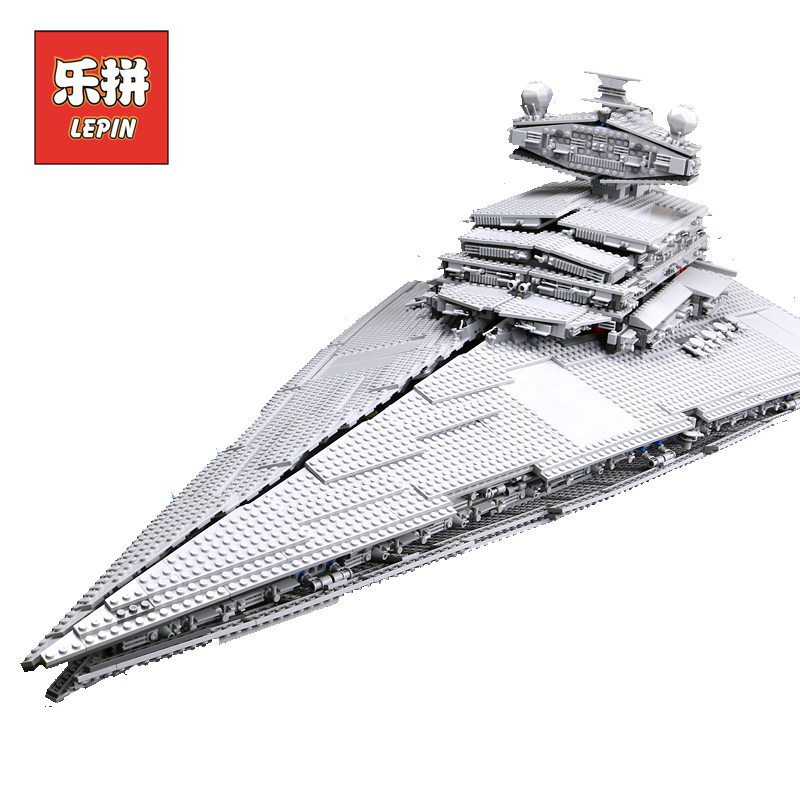 LEPIN 05027 Empereur Combattants Star Ship Plan Wars legoings Starwars 10030 10221 Destroyer Vaisseau Blocs de Construction Pour Enfants Jouets