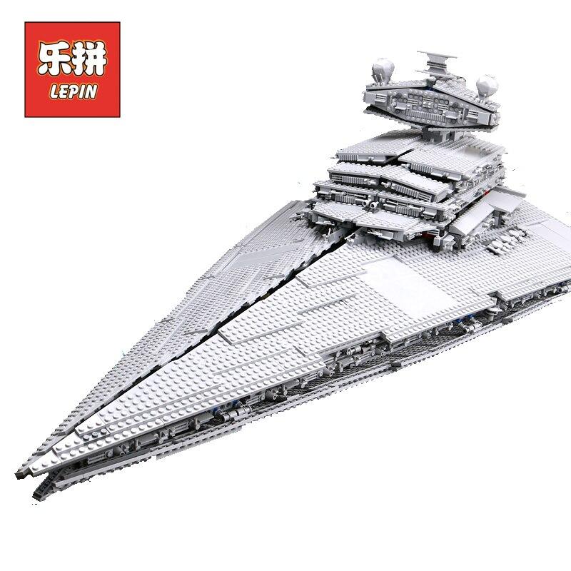 LEPIN 05027 Imperatore Fighters La Nave Star Piano Wars legoings Star wars 10030 10221 Destroyer Star la nave Blocchi di Costruzione Per Bambini Giocattoli