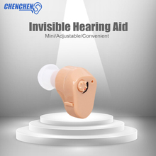 CIC In-ear Hearing AIDS Ear Sound Amplifier Low Noise Volume Adjustable Hearing AID Deaf Ear Assistance  Audiphone Ear Care