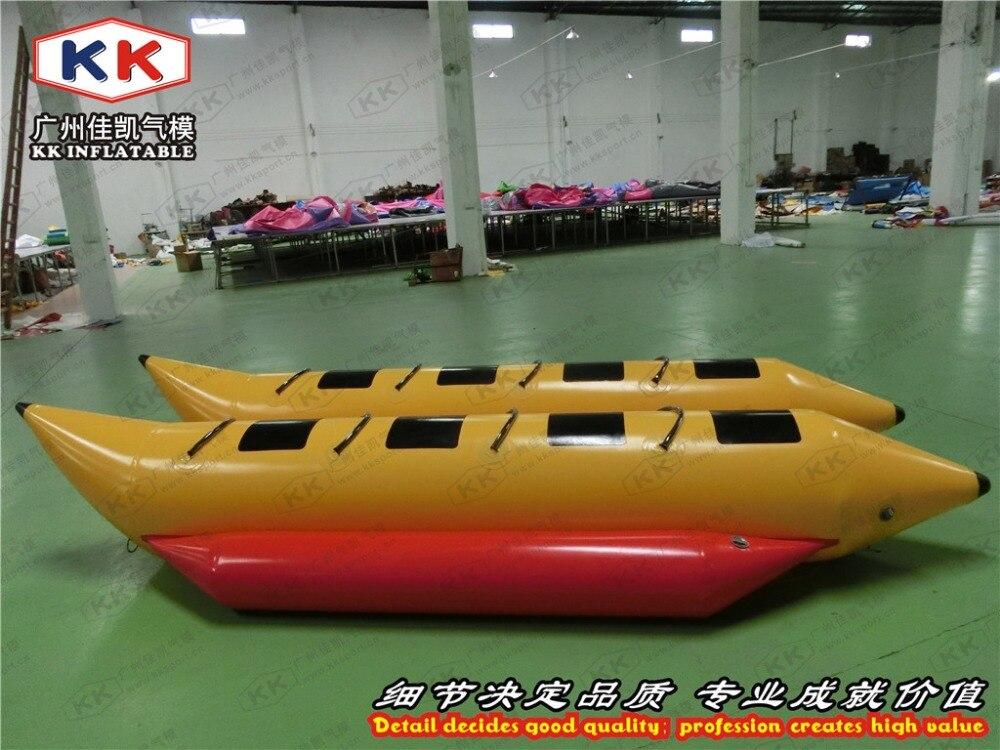 0,9mm Pvc 8 Personen Aufblasbares Bananenboote Für Schnee Spiel Auf Dem Internationalen Markt Hohes Ansehen GenießEn