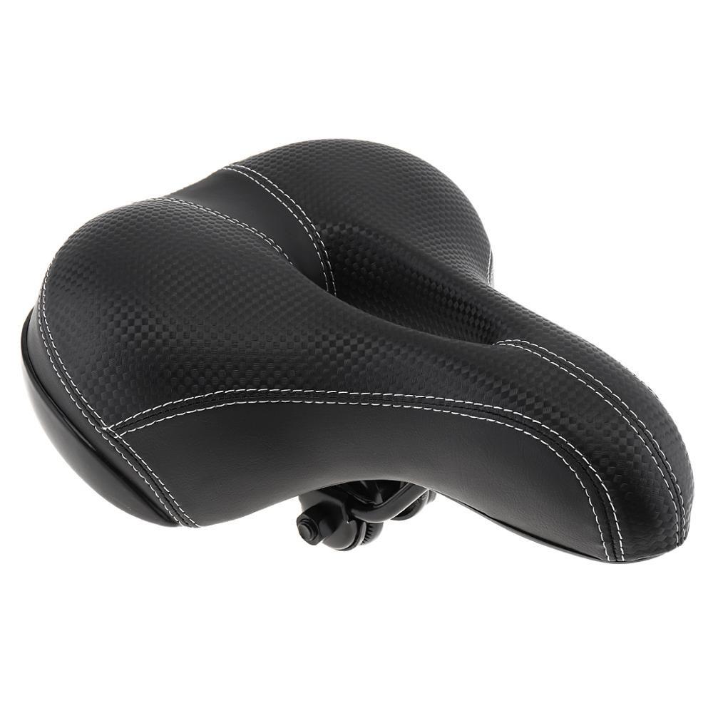 Grande assento de bicicleta engrossar sela da bicicleta assento asiento esponja macia ciclismo sela mtb almofada
