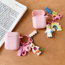 Cute 3D Doll toy story silicone headphone cable doll Earphone Case For Apple Airpods Soft Marvel Legos Bluetooth Wireless Cover(China)