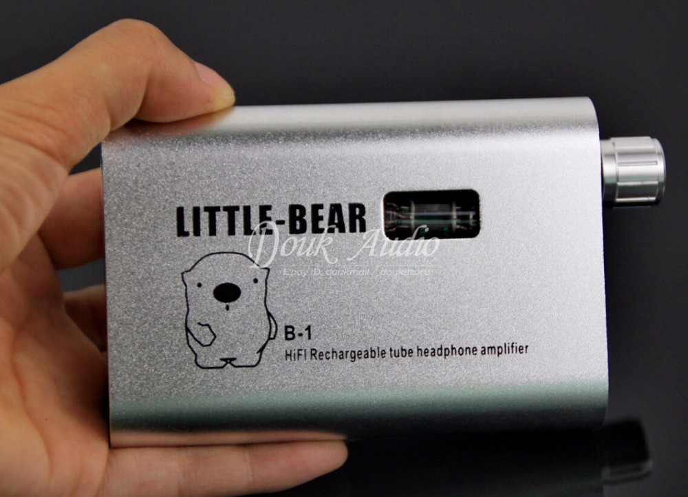 Little Bear B1 Silver Portable Rechargable Tube Headphone Amp HiFi Amp audionet amp v silver