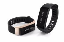 W6 Bluetooth 4.0 смарт-браслет Поддержка Android IOS Телефон спортивные Фитнес трекер Шагомер SmartBand черный золото PK mi Группа 2