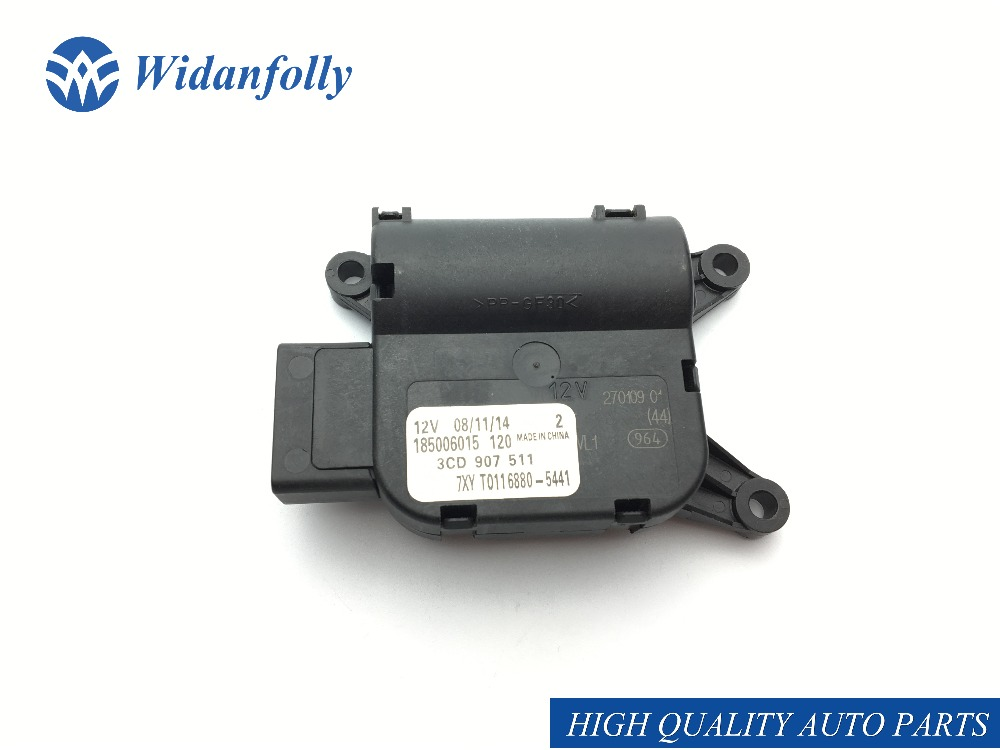 Widanfolly AC Control Temperature Flap Adjust Valve Evaporation Motor For CC Passat B6 B7 2007 2008 3C0907511 3CD 3C0 907 511|Blower Motors|Automobiles & Motorcycles - title=