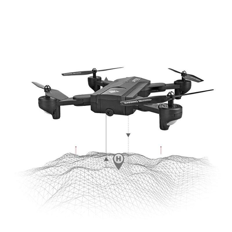 все цены на 2018 F196 Foldable Drone with Camera 2MP HD RC Quadcopter Optical Flow Drone Gesture Control онлайн