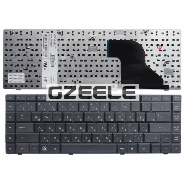 Russian NEW Keyboard FOR  HP Compaq 620 621 625 CQ620 CQ621 CQ625  RU laptop keyboard