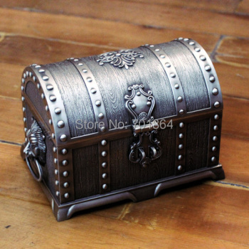 Treasure Chest Vintage Jewelry Box