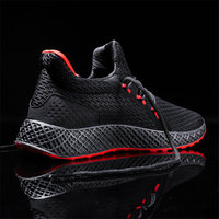Fires Fashion Men Shoes Lightweight Mesh Sneakers Breathable Men Casual Shoes Trendy New Trend Men Tennis Outdoor Sneakers