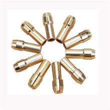10 Pieces Mini Drill Brass Collet Chuck for Dremel Rotary Tool Including 0.5/0.8/1.0/1.2/1.5/1.8/2.0/2.4/3.0/3.2 mm #356