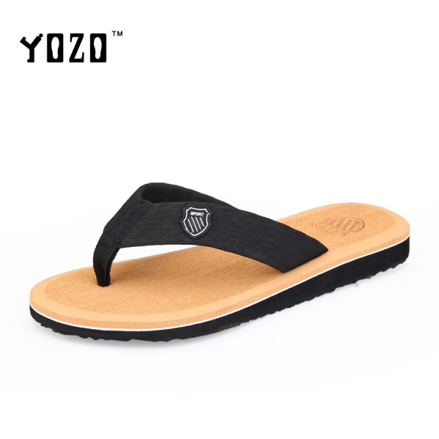 9faab1fe34cf1 Men Sandals Fashion Slip On Flip Flops Flat Casual Comfortable Leisure Brand  Sandals Men Beach Sandals