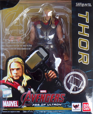 Movie Marvel the Avengers Changeable Thor Bandai PVC Action Figure Thor hammer Collectible Model doll Toy child kids gift original factory big sale child muscle thor movie avergers superhero costume