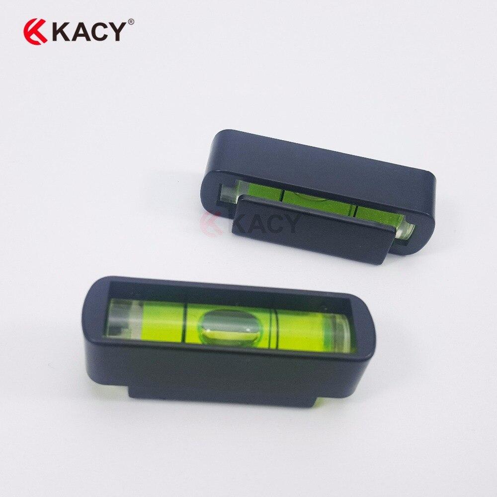 KACY 6pcs/lot 41.5X12X14MM Mini spirit level,TV stand bubble level