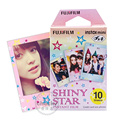 Fujifilm fuji instax mini película instantánea estrella brillante 10 hojas de película foto fujifilm para fuji instax mini 8 7 7 s 25 50 70 sp-1 cámara