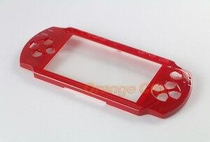 Image 5 - Hàng Đầu Trên Mặt Trước Mặt Vỏ Bao Da Ốp Lưng Thay Thế Cho Máy PSP 1000 1001 Mỡ Mặt Dành Cho PSP1000 Mỡ
