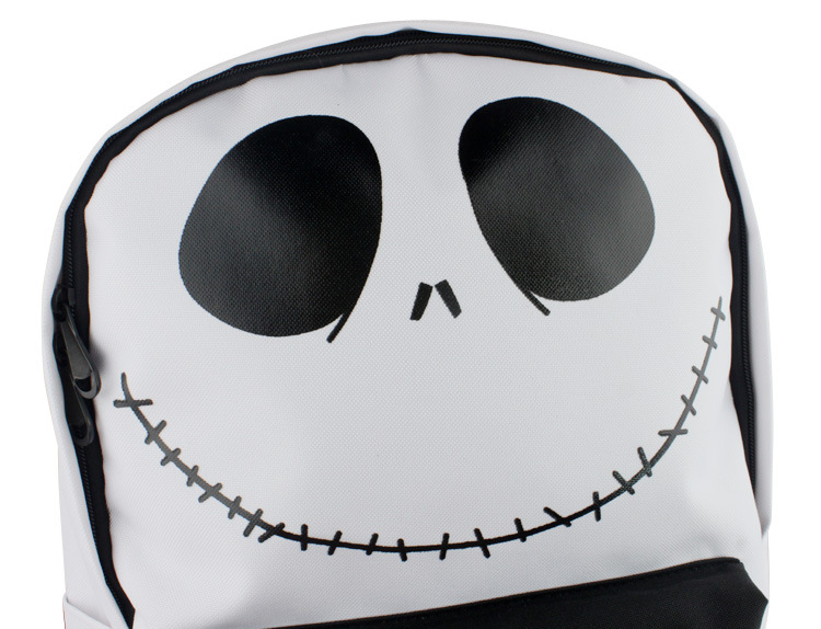 The Nightmare Before Christmas Jack Cosplay Prop Bag Halloween PU Leather Bag Gift Movie Collection Fans Gift Drop Ship