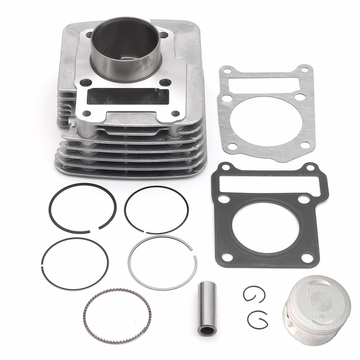 Kit de jeu de segments de Piston de cylindre en aluminium pour Yamaha TTR 125 2000-2003 TTR125 2000-2004