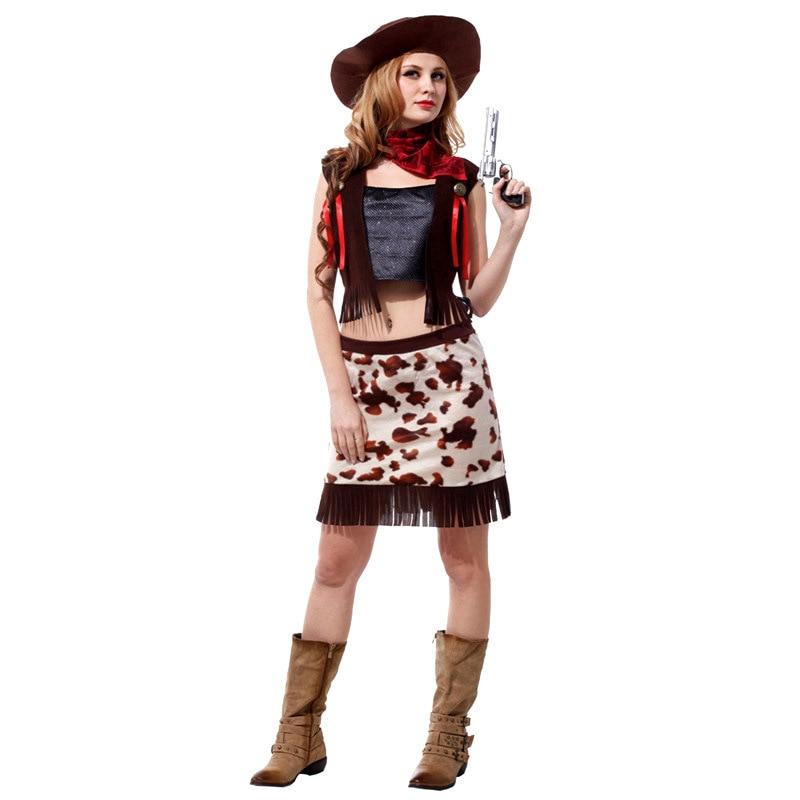Cheap Halloween Decor: Online Get Cheap Women Cowgirl Costume -Aliexpress.com