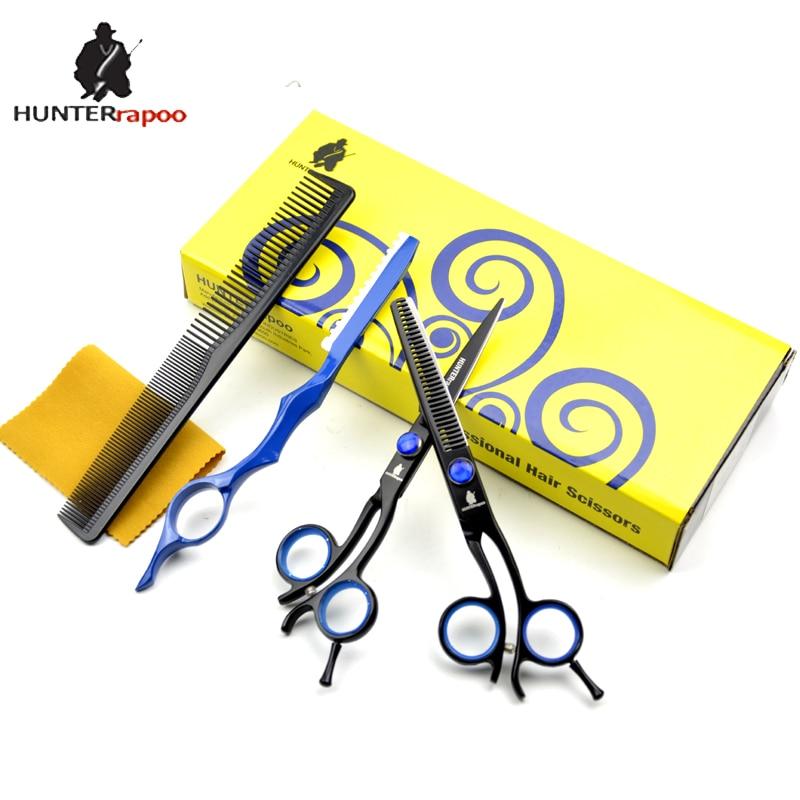 50% Off HT9168 Japanese stainless steel 440C professional hair cutting scissors kit razor cutting shear barber thinning scissor