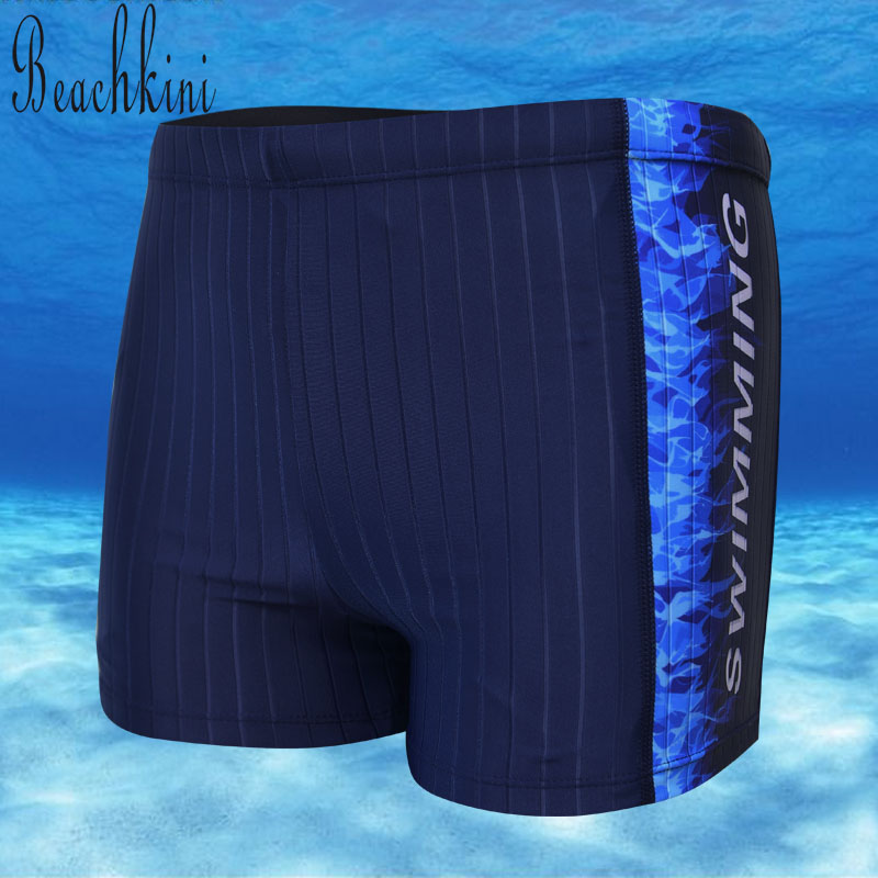 2017 New Style Men Stripes Swim Shorts Man Sport Boyshorts Short Pants Swimwear Boys Flame Trunks Bathing Suit ...