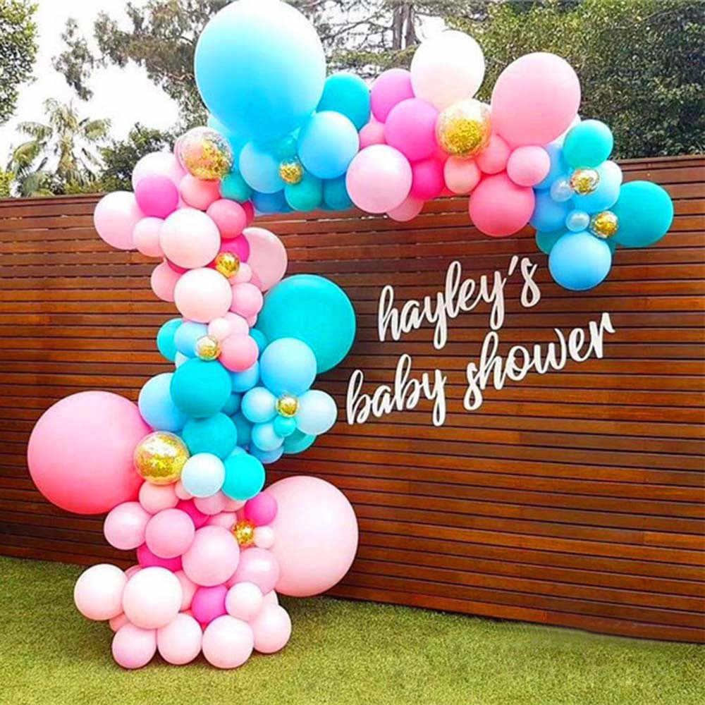 5m พลาสติกโปร่งใสบอลลูน Chain เทป Arch เชื่อมต่อสำหรับงานแต่งงานวันเกิด Party Decor 2018 ใหม่มาถึง Dropshipping