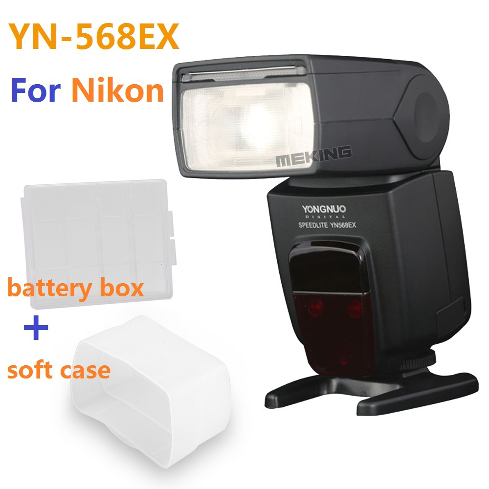 Yongnuo YN-568EX YN568EX Flash light Speedlite Speedlight TTL Auto 1/8000s for Nikon D5200 D3100 D750 D80 D90 D600 D650 D700 D60 for nikon canon dslr camera speedlite hss 1 8000s ttl flash speedlight inseesi in586exii vs yongnuo yn565ex yn568ex yn 565ex