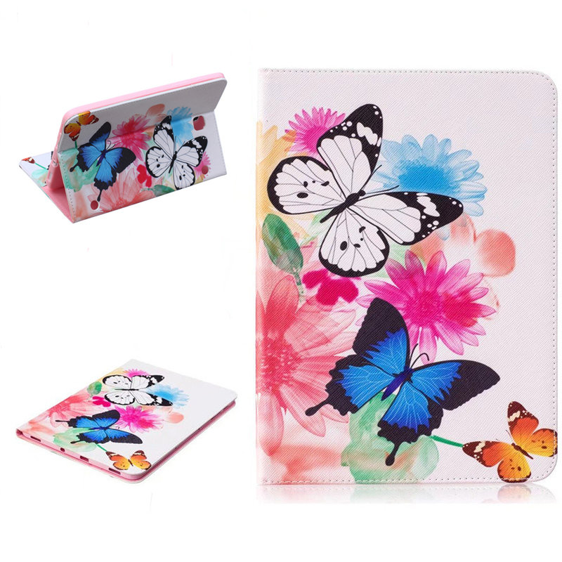 Tab S2 SM-T810/813/815/819 Panda Owl Pattern Case PU Leather Stand Cover For Samsung Galaxy Tab S2 9.7 Tablet Case T810 T815