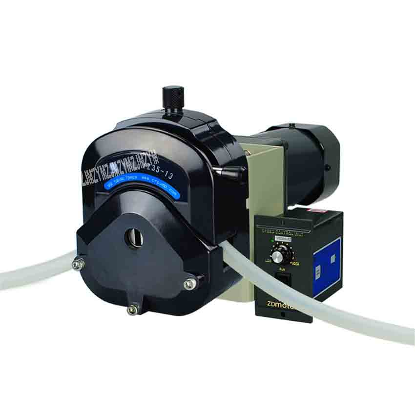 Nouveauté pompe péristaltique électrique 12 V/24 V OEM200 contrôle externe Simple pompe péristaltique OEM 300 W 740-10000 ml/min 0-600 rpm