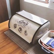 Metal Bread Box Bin Kitchen Storage Containers Home Kitchen