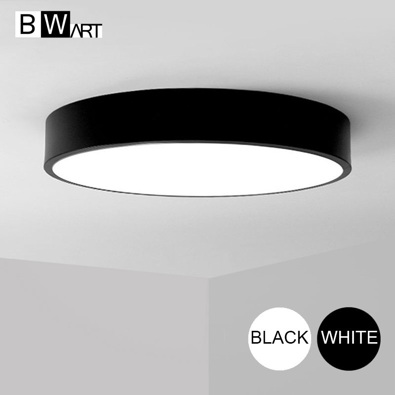 BWART Modern LED ceiling light Round simple decoration fixtures study dining room balcony bedroom living room