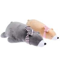 Sevimli Bebek Çocuk Çocuk Yastıkları Yastık Kutup Ayısı Hayvan Şekilli Yumuşak Büyük Minder çocuk Odası Dekor Doll Peluş Oyuncaklar hediyeler