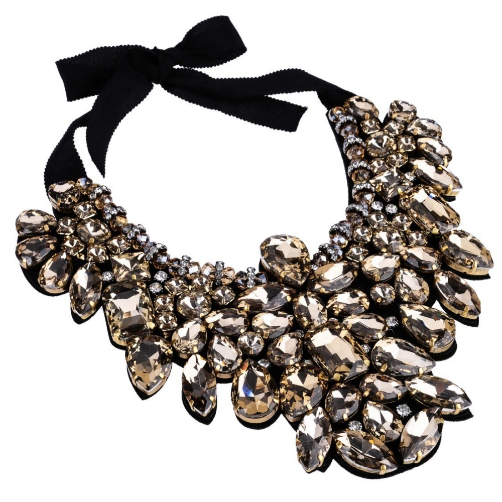 Female new year evening dress perfect match accessories for Costume jewelry for evening gowns