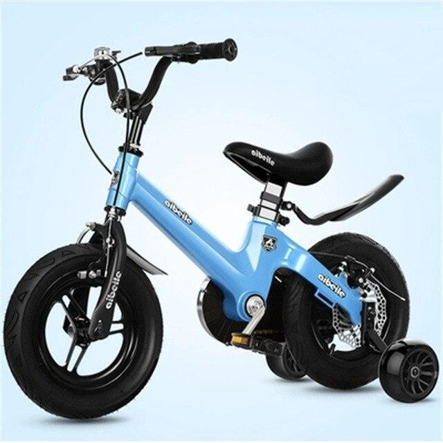 """Bicicleta para niños de 12 """"14"""" 16 """"18"""" para 2-6-8- 10 años niños Grils montar bicicleta niños con Pedal niños caminador"""