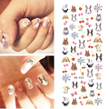 1 Sheet Nail Art Water Decal Lovely Rabbit Pattern Manicure Decoration Nail Art Transfer Sticker Decal KK-022