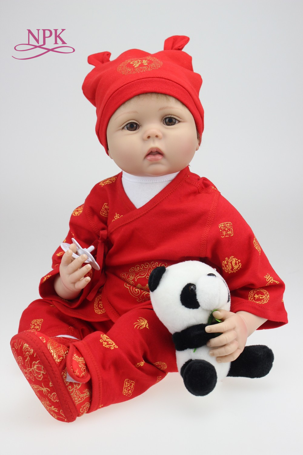 Здесь продается  NPK 2017 new hot sale lifelike reborn baby doll wholesale baby dolls Christmas gift for girl baby  Игрушки и Хобби